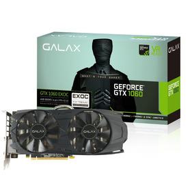 Placa De Video Galax Gtx 1060 6gb Oc Exoc 192 Bits 12x
