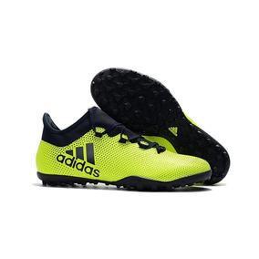 e1da1ee69e Chuteira Adidas F5 Roxa Laranja E Amarela Colorida - Chuteiras Verde ...