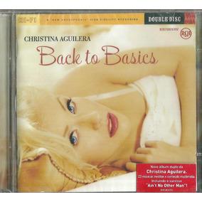 Cd Duplo Christina Aguilera Back To Basics 2006 Lacrado
