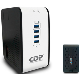 Regulador De Voltaje Cdp 1000va 8 Contactos R2cu-avr1008