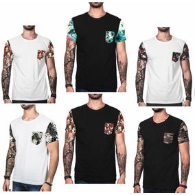 Kit 10 Camisetas Masculinas Atacado Blusa Floral Revenda 66771ab80c0