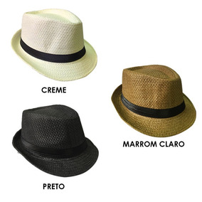 Chapéu 25 De Março - Chapéus Panamá no Mercado Livre Brasil 5ef7343b9fb