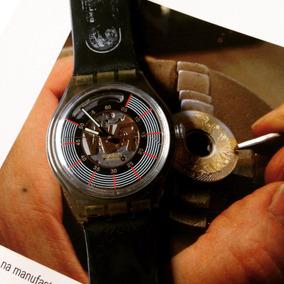 Swatch Swiss Maquina Eta Peça De Colecionador