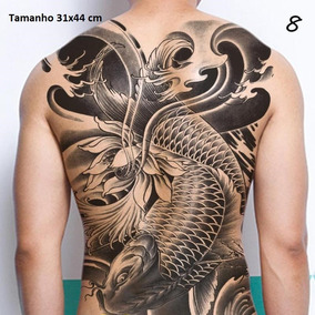 Tatuagem Temporária Gigante !!! Costas Inteira...