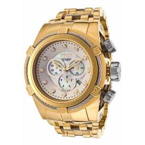 e6416c02eb3 Relogio Invicta Zeus Dourado 12743 - Relógios no Mercado Livre Brasil