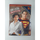Box Dvd Lois Clark Aventuras Superman 4 Temporada Original