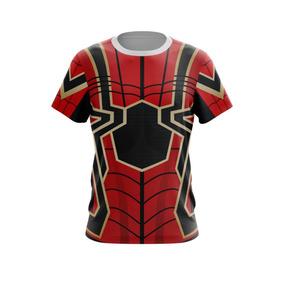 Camiseta 100% Poliéster Cm100 Homem Aranha Spider