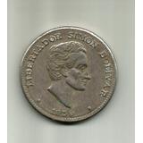 Colombia 50 Centavos 1959 Simon Bolivar Girada Vf