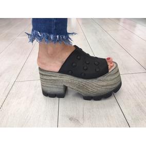 78bdd75526 Sandalias Mujer Zapatos Plataformas Sueco Tachas Verano 19