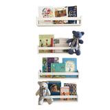 Prateleiras Para Livros Infantil Kit 4 Pç Grande