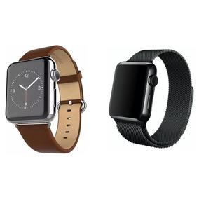 df95e4dd14b Pulseira Apple Watch 42mm Couro Loop - Relógios no Mercado Livre Brasil