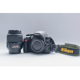 Cámara Réflex Nikon D3100 + Objetivo + Memoria+ Envio Gratis