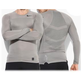 Camisa De Compressão Nike Pro Hypercool Manga Longa 907eb729ff6d4