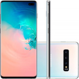 Celular Samsung Galaxy S10 Plus Branco 128gb Dual Chip T