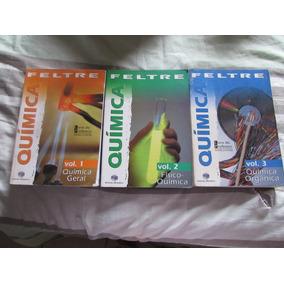 Química - Ricardo Feltre Coleção Com 3 Volumes Com Gabarito