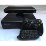 Xbox 360 S 120gb Con Kinect, Teclado Y 7 Juegos