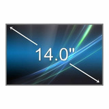 Pantalla Display Notebook 14 Led Slim 40 Pin Hb140wx1-300
