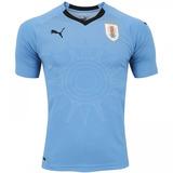 N Oficial Camisa Futebol Seleção Uruguai Azul 16 17 S - Camisas de ... e28af0babcd3e