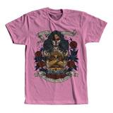 1e5404398c Camisa Camiseta Unissex Mulher Maravilha Caveira Mexicana