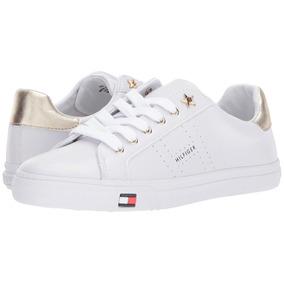 35cd4055a15 Zapatillas Tommy Hilfiger Blancas - Ropa y Accesorios en Mercado ...