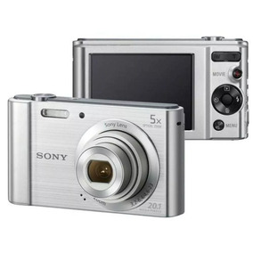 Câmera Digital Sony W800 Cyber Shot 20.1mp Tela Lcd