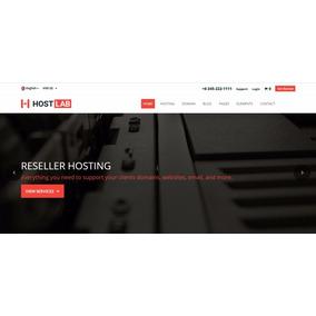 Template Hostlab Html5 Completo