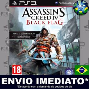 Jogo Ps3 Assassins Creed Iv 4 Black Flag Psn Br Promoção