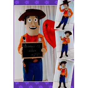 Fantasia Woody Toy Story - Aluguel - R$150,00