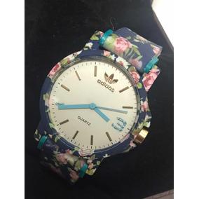 Relógio adidas Feminino Estampa Flores