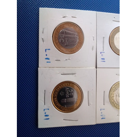 Moeda B C 40 Anos B C 50 Anos J K R$1,00 1998 (alpaca) L1