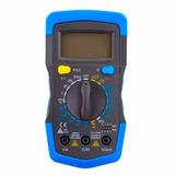 Multímetro Digital Profissional Multiteste Bateria Portátil
