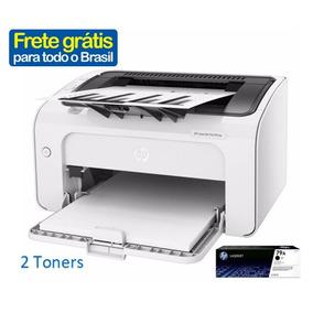 Impressora Hp M12w Laser Wifi 220v Com 2 Toner 79a Incluso