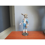 Figura Decorativa Hombre Con Cabeza De Alce