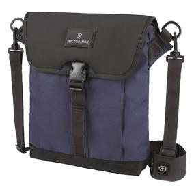 Victorinox (601450) Bolso Azul C/ Negro 10 Plg. Nylon
