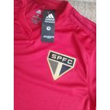 Nova Camisa São Paulo Treino 2018 Vermelho Lançamento Oferta 0be9cf20bfba7