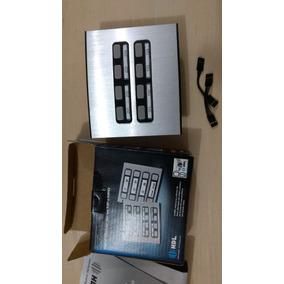Painel Modular De Porteiro Eletrônico Duplo 8 Botões Compor