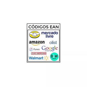 50 Códigos Ean Upc Válidos Para Mercado Livre E Outros