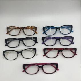 Oculos De Grau Feminino Vermelho Oncinha - Óculos Azul no Mercado ... caf90b72dc