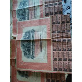 Apólice 200 Mil Reis Distrito Federal Prefeitura Rara Unica