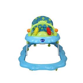Andador Musical Infantil Com Móbiles Na Caixa Hoop - Azul