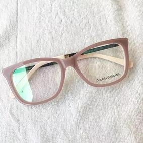 6859ef18bb1c8 Oculos Sem Grau Rosa Dolce Gabbana - Óculos no Mercado Livre Brasil