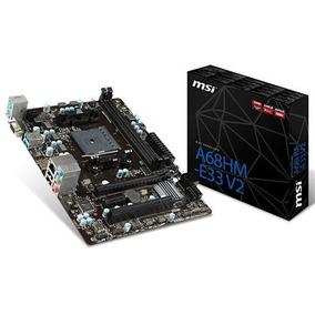 Kit Amd Gamer A4 6300 3.7ghz + A68hm-e33 V2 Msi + 4gb Hyperx