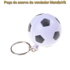 Lindo Chaveiro Em Formato De Bola De Futebol Maleável Macio