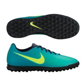 Chuteira Society Nike Magista Azul - Chuteiras no Mercado Livre Brasil 55986bc4d4266