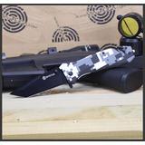 Canivete Tático Phanton Semi-automático Com Clip Invictus