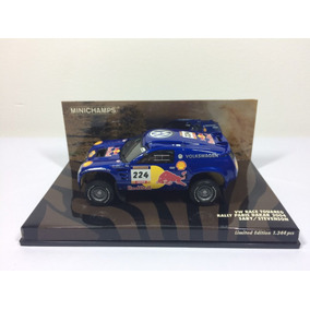 Miniatura Minichamps Vw Touareg Rally Paris Dakar 2004 1/43