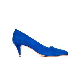 7869448a72664 Zapatos Stiletto Mujer Fiesta Gamuza Taco Bajo Vestir Suela