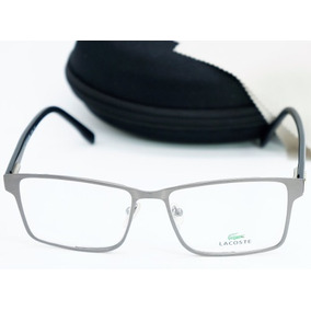 Armação De Óculos De Grau Quadrado Cinza Para Grau Alto 5451722ab6