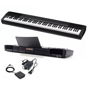 Piano Digital Casio Cdp 135 + Fonte + Sustain + Promoção!