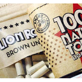 Tabaco Lion Filtros + Papel / Lion Rolling Circus / Kit Armá